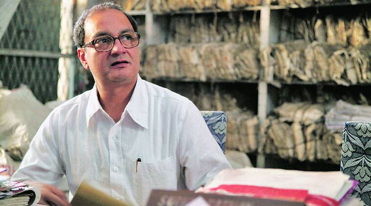 Vinay Pathak plays Gaur Hari Das, a freedom fighter who struggled for 32 years.