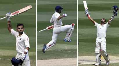 PHOTOS: Kohli-Rahane stand lights up MCG