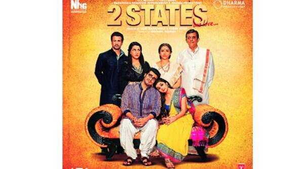 The film 2 States for which the production house won the Award
