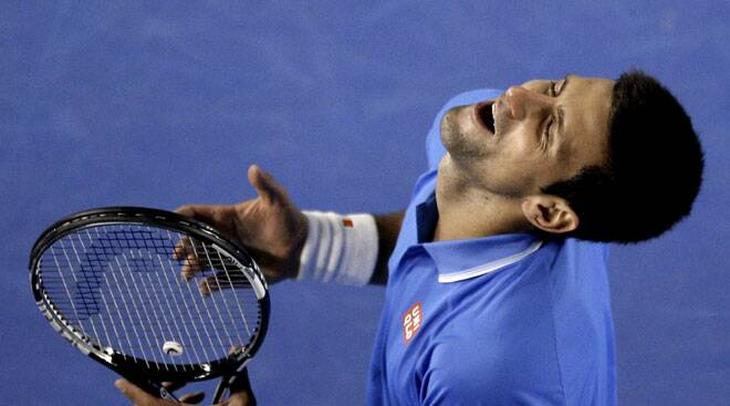 Australian Open: Novak Djokovic and Stanislas Wawrinka light up Australia Day
