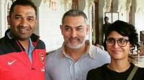 Revealed: Aamir Khan turns old and grey for 'Dangal'