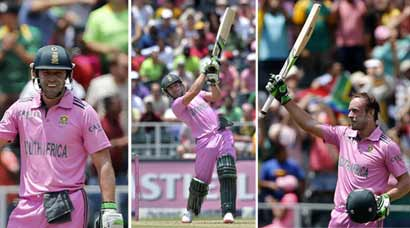 AB de Villiers creates history with 44-ball 149