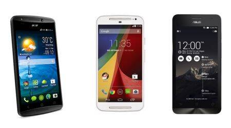 Acer Liquid E700 vs Motorola Moto G vs Asus Zenfone 5