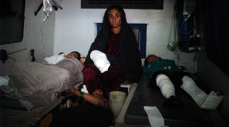 File. Afghan injured children are treated at hospital in Helmand province, south of Kabul, Afghanistan. (AP Photo)
