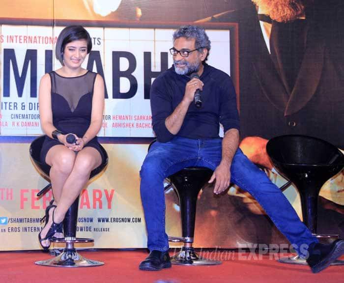 Shamitabh, Amitabh Bachchan, Dhanush, Akshara Haasan, Shamitabh trailer launch
