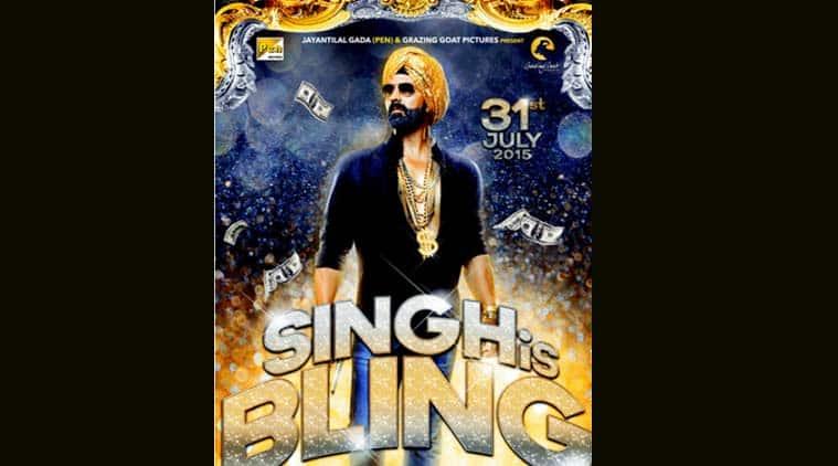 Akshay Kumar, Singh Is Bling