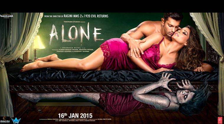 Alone movie review, Alone movie, Alone review, Movie review Alone, Alone Bipasha Basu, Bipasha Basu, Karan Singh Grover, Alone film review, alone movie film review