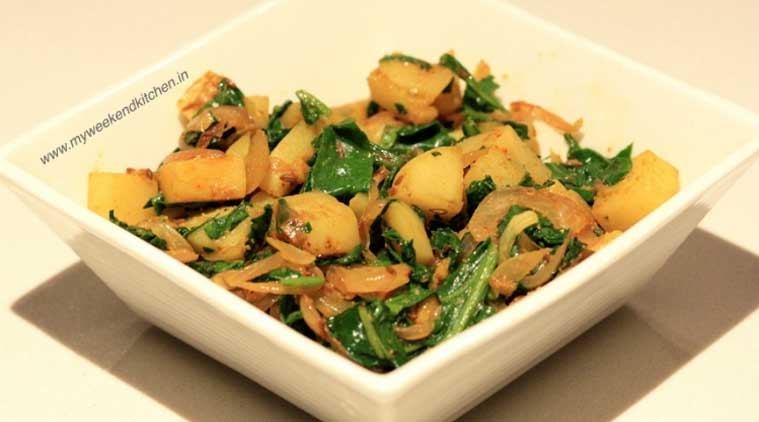 Express recipe: How to make Aloo Palak in five easy steps