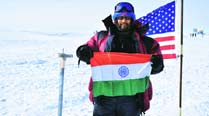 'Antarctics' of mountaineer from Pune beats the cold