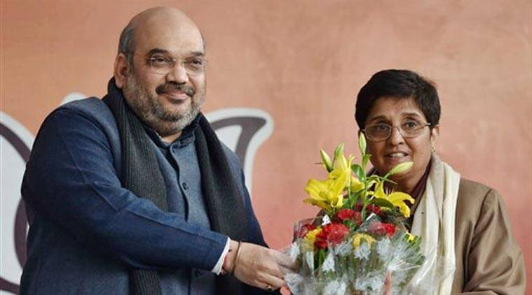 Delhi elections, Kiran Bedi, BJP, Kiran Bedi joins BJP, Kiran Bedi BJP, Arvind Kejriwal