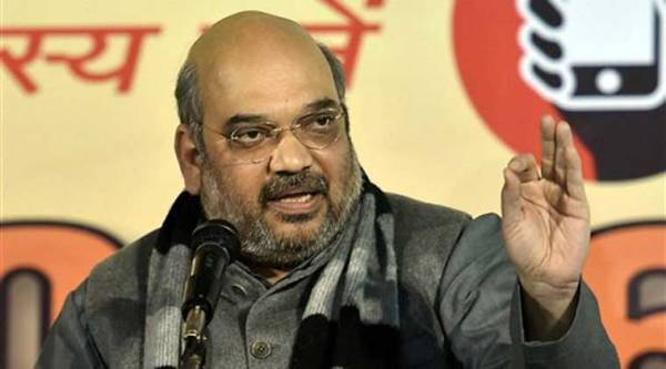 Shah called for uprooting the Trinamool from Bengal.
