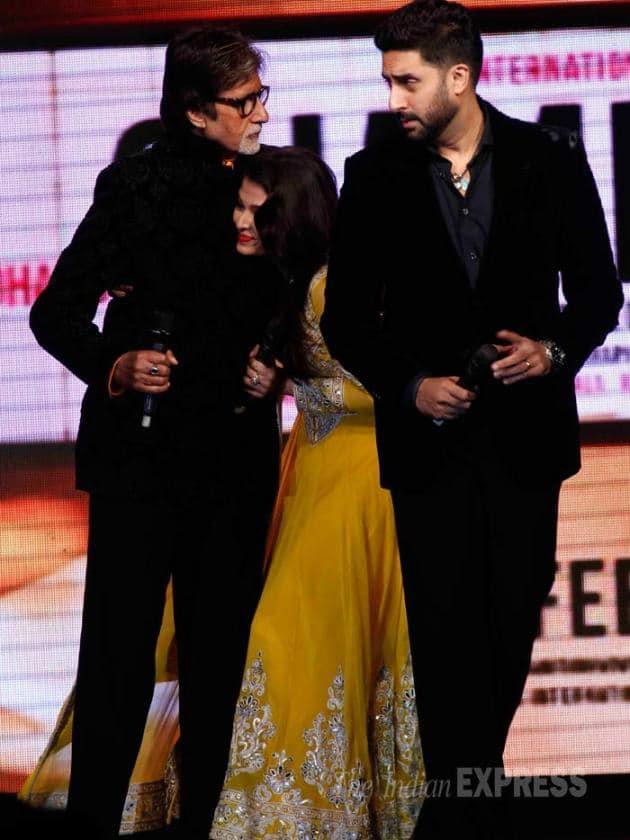 Aishwarya Rai Bachchan, amitabh Bachchan, Abhishek Bachchan