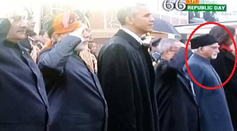 Hamid Ansari, republic day