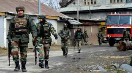 Encounter breaks out between security forces, militants
