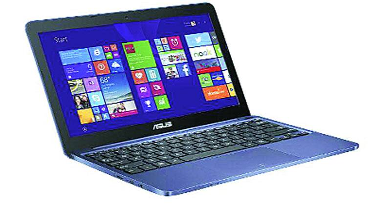 The new Asus EeeBook X205 runs on Windows 8.1 (32-bit) operating system with Bing and one year Office 365 subscription.
