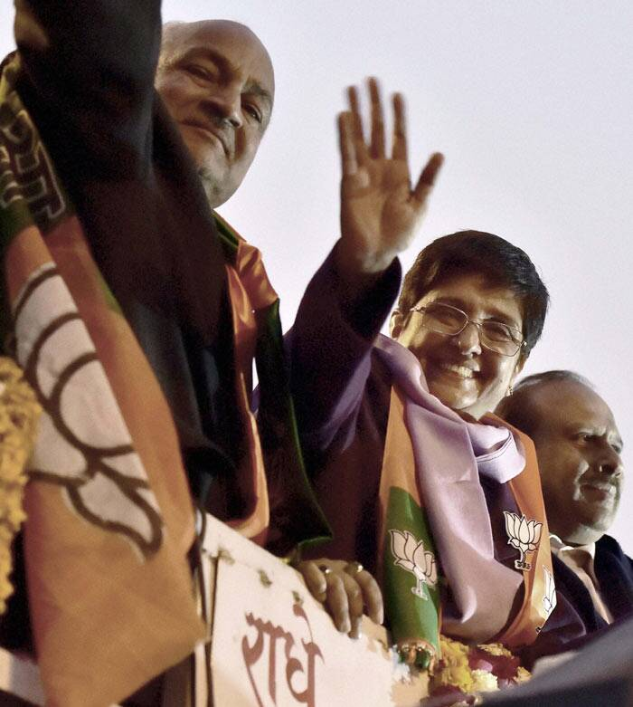 kiran bedi, BJP, delhi polls, delhi assembly elections