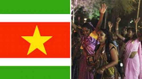 The third-most used language in Suriname, a small country near Brazil, is Surinamese Hindi or Sarnami, a dialect of Bhojpuri. (Source: Reuters)