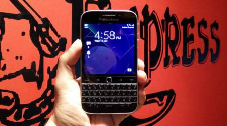 BlackBerry Classic comes to India: Here is the first look
