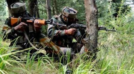 Attack on BSF convoy in J&K; 3 jawans injured, 1 terrorist killed