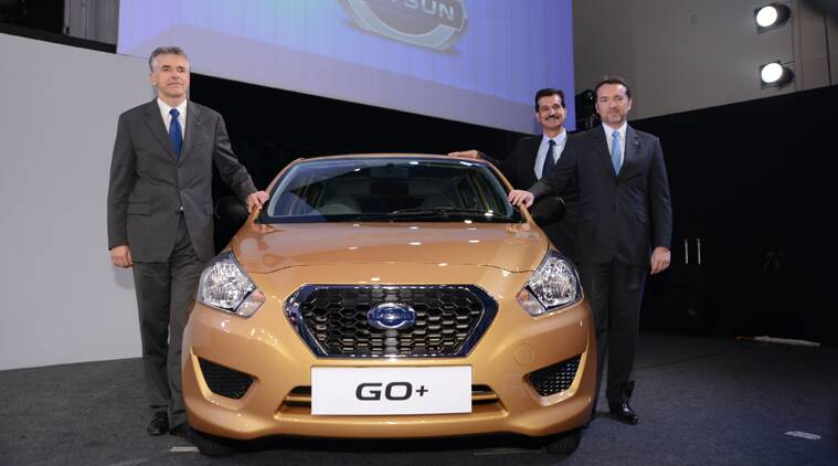Datsun, Car launch, Datsun Go+