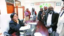 Day 1: Mayor meets councillors, party workers,representatives