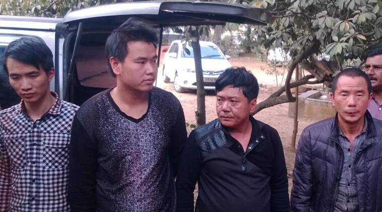 Four alleged Chinese Red Sanders smugglers nabbed near Bangalore
