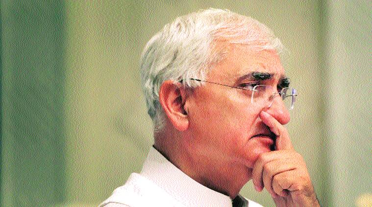 Wind not behind Congress this time: Salman Khurshid