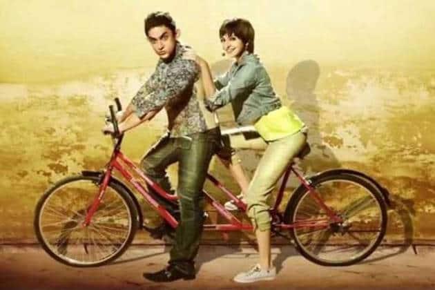 PK, Aamir Khan, Anushka Sharma