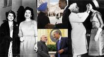 Express archive pictures that define Indo-US ties