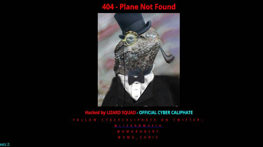 Malaysia Air site hacked by group claiming support for IS