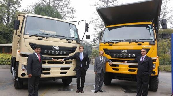 VE Commercial Vehicles, Volvo Group, Eicher Motors Limited,  Eicher Pro 6000 series,
