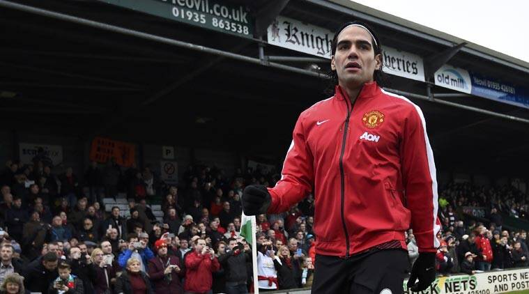 Radamel Falcao, Manchester United, Louis van Gaal, United Football Falcao, Falcao United Football, English Premier League, Football News, Football