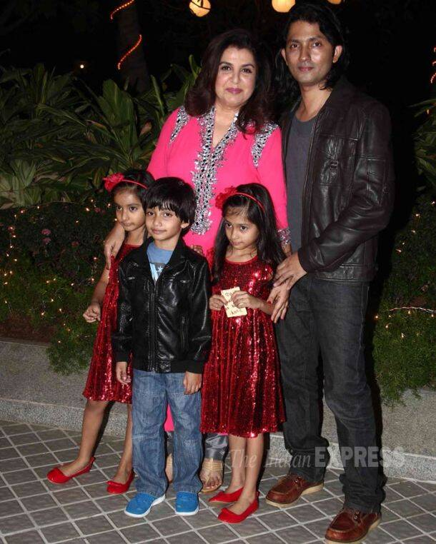 Farah Khan, Shirish Kunder