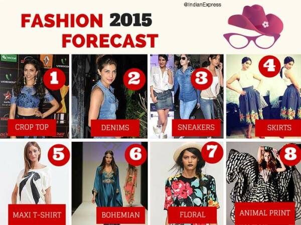Fashion Predictions 2015 Designers Choose Skirts Crop Tops Florals Denims