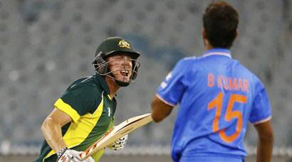 India vs Australia, tri-series 2nd ODI: Australia keep calm, win thriller