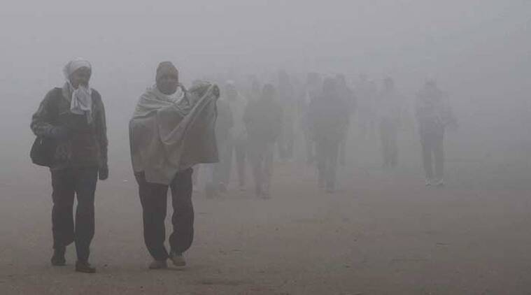 fog, cold, winters, weather, Uttar Pradesh