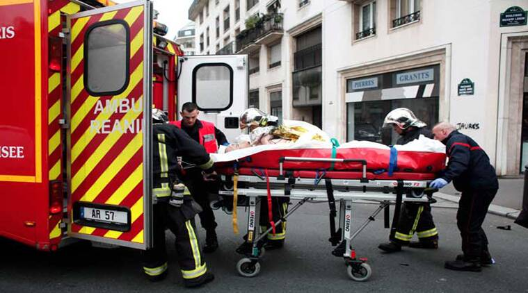 In the months leading up to Wednesday's attack, the men were not treated as priority targets by French counter-terrorism agencies. (Source: AP photo)