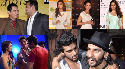 Photos: Shraddha-Kangana, Ranveer-Arjun, Alia-Parineeti: Bollywood's new found friends