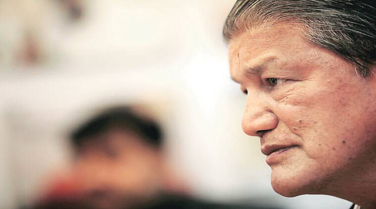 Uttarakhand crisis, President's rule in uttarakhand, Harish Rawat, Harish Rawat government, BJP leaders, BJP leaders meet Uttarakhand governor, Uttarakhand governor, KK Paul, Uttarakhand former cm  Bhagat Singh Koshiyari, india news