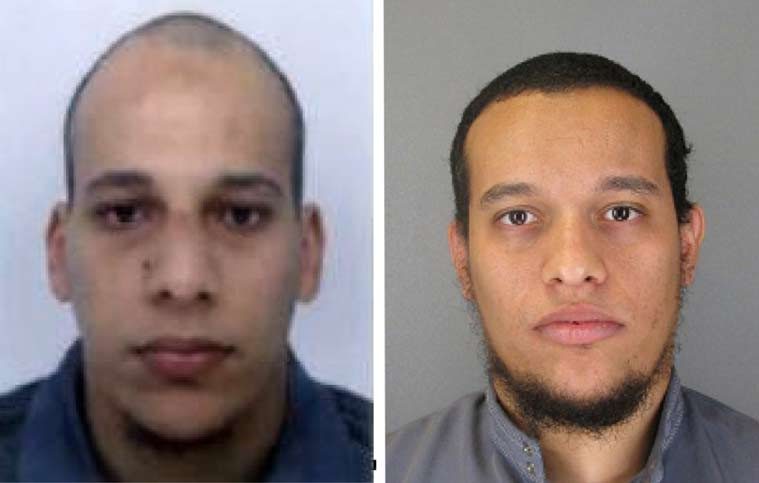 Two armed suspects have been located in North France. (Source: AP)