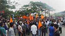 HJM holds mahapanchayat to protest abduction of Hindugirl