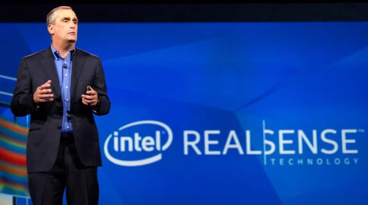 Intel Selfie drone CES 2015
