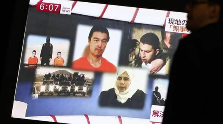 japan hostages, jordan pilot hostage, jordan pilot IS, IS hostages, IS captives, islamic state captives, Kenji Goto, Islamic State militants, Jordanian air force pilot, Muath al Kasaesbeh, Sajida al Rishawi, terrorism, terrorists, IS terrorists, journalists, freedom of speech, IS news, ISIS news, islamic state news, world news, indian express