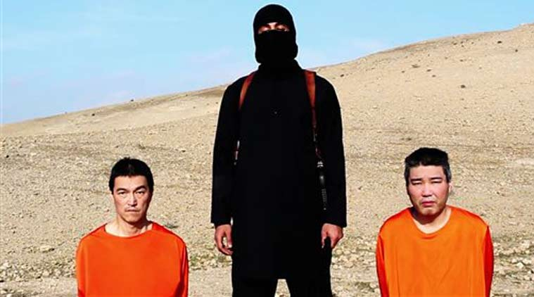 This file image taken from an online video released by the Islamic State group's al-Furqan media arm. (Source: AP)