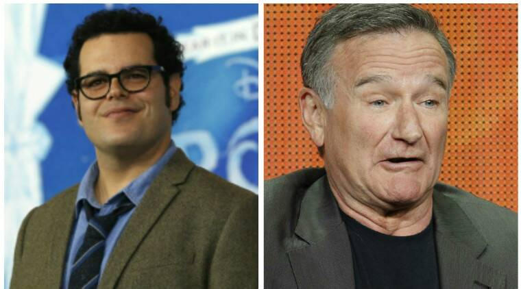 Josh Gad, Robin Williams