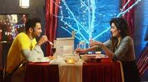 Bigg Boss Halla Bol: Karishma Tanna and Upen Patel enjoy their first date