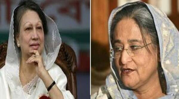 Zia, 69, and Hasina, 67, are known as the 'Battling Begums' for their bitter rivalry that has poisoned Bangladeshi politics for nearly three decades.