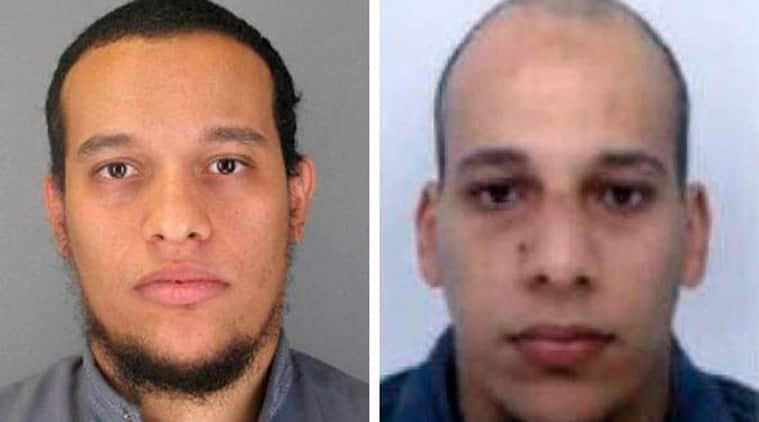 Said Kouachi (left), and his brother Cherif Kouachi (Source: AP photo)