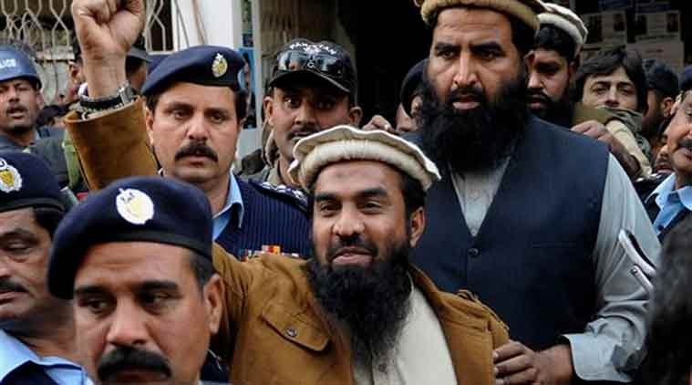 LeT operations commander Zaki-ur-Rehman Lakhvi (Source: AP photo)
