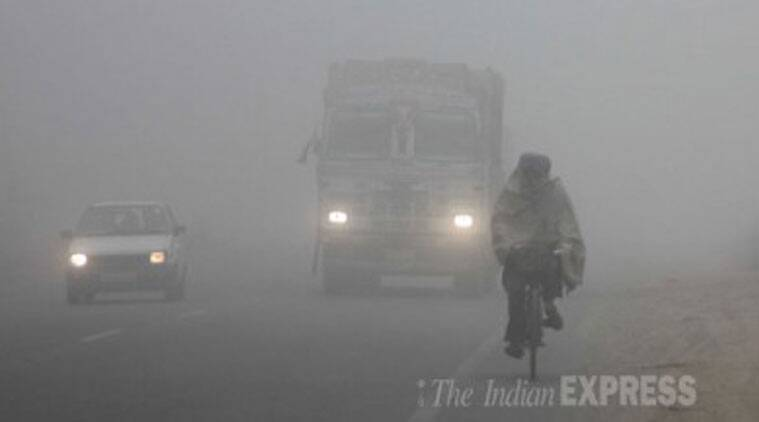 Dense fog is cited as the most common cause for power breakdowns. (Source: Express Photo by Gurmeet Singh)